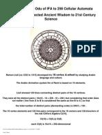 Ramon l Lull Science