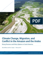 Climate Change, Migration, and