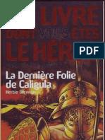 Défis de l'histoire 2-La Derniere Folie de Caligula
