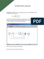 Nonlinear Servo Simulation