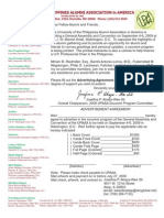 UPAAA 2009 Convention at JW Marriott Washington DC Sept 4-6, 2009 - Advertising Form for Souvenir Program as of Feb 2009