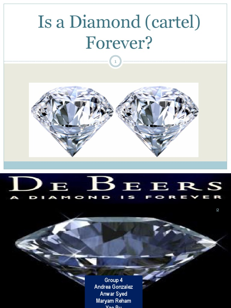 is a diamond cartel forever