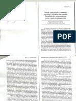 Saúde Psicológica, sucesso escolar e eficácia da escola0001