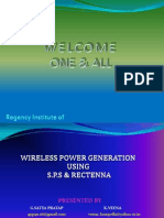 Wireless Pg Using Sps&R-final