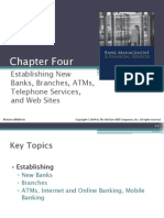 Chapter04-1 Est of New Bank Branch