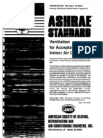 Ashrae Standars 2001 - Ventilation for Acceptable Indoor Air Quality