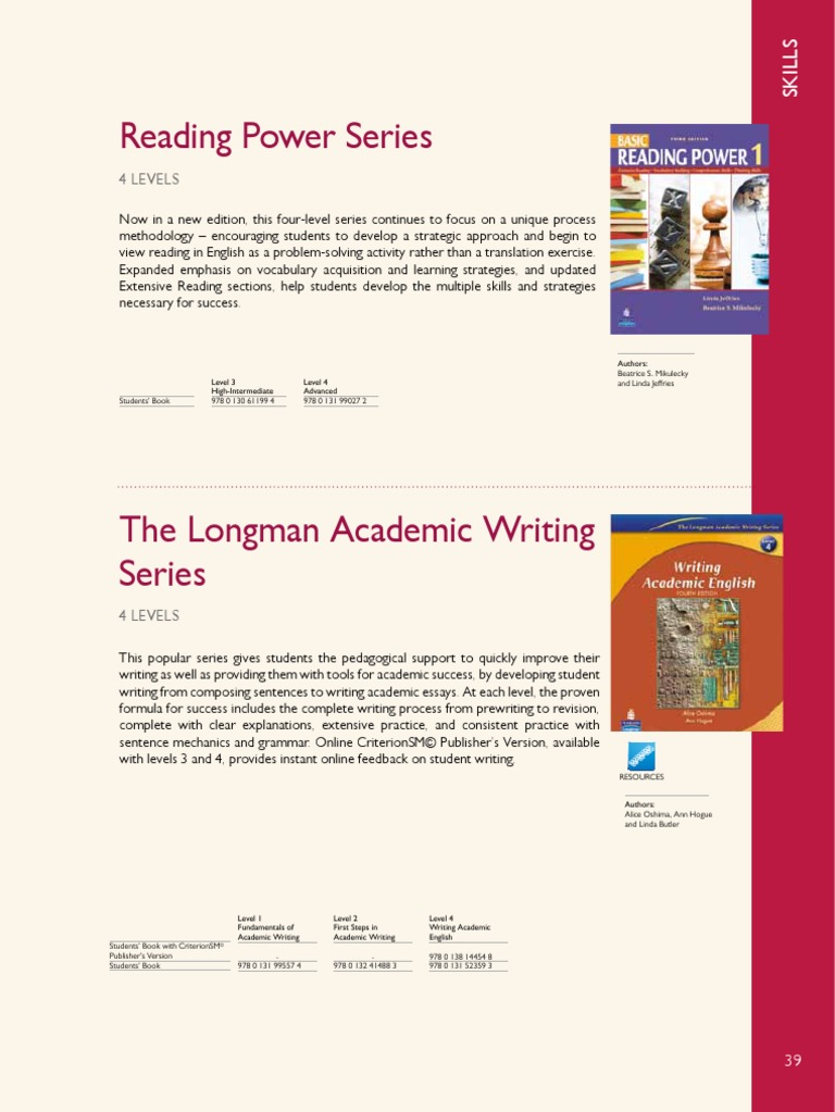 Academic writing needed sample pdf