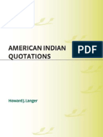 American Indian Quotations