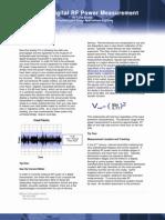 Tips for Digital RF Power Measurement