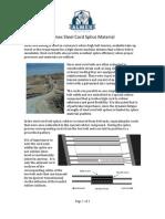 Almex Steel Cord Splice Material Paper (9!12!11)