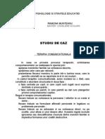 STUDIU de CAZ-Terapia Comunicationala