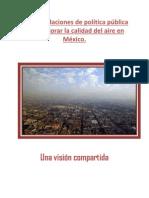 Recomendaciones de Política Pública Para Mejorar la Calidad del Aire en México (CEMDA, 2013)