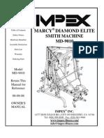 IMPEX MARCY DIAMOND ELITE SMITH MACHINE