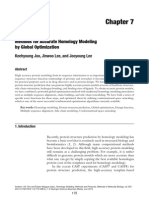 Methods for Accurate Homology Modeling by Global Optimization