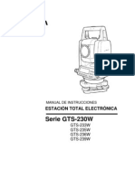 Manual en Espaol GTS-230W