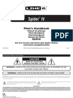 Spider IV Pilot's Guide - English ( Rev E )
