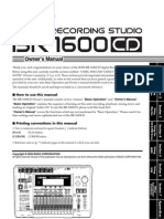 Boss BR-1600CD Owners Manual