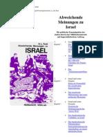 Fertl - Abweichende Meinungen Zu Israel