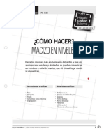 PA-Is33 Hacer Macizo Niveles
