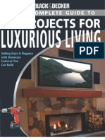 Black & Decker the Complete Guide to DIY Projects for Luxurious Living - J. Farris (Creative, 2008) BBS