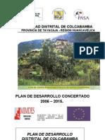 Pdc Colcabamba Julio 2006