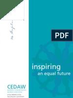 2012 CEDAW Women's Human Rights Awards Program
