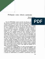 DSantos Pedagogia Como Ciencia Autonoma 1949