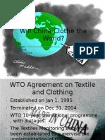Will China Clothe the World