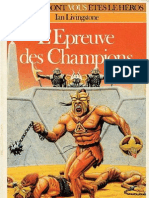Defis Fantastiques 21 - l'Epreuve Des Champions