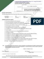 CDCA ECF 608 2012-02-25 - Liberi v Taitz - Notice of Filer Deficiencies