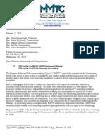 MMTC Quadrennial ExtReq 022513