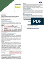 INFORMATIVO DA COORDENAÇÃO 2012-02 ALUNOS