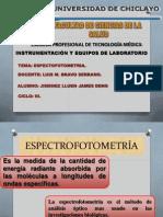 Espectrofotometria James