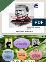 Semblanza Biografica Del Descubridor de Las Leyes de La Herencia Biologica