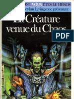 Defis Fantastiques 24 - La Créature venue du Chaos
