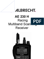 Albrecht AE230 Manual English
