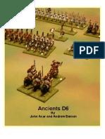 Ancients D6 Rulebook