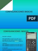 CONFIGURACIONES BASICAS