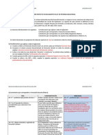 Opinion de la Mesa Interinstitucional de Desarrollo Docente sobre el reglamento Ley de Reforma Magisterial