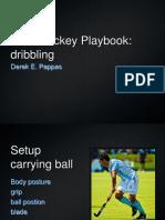 Field Hockey Playbook Dribbling