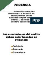 Auditoria de Sistemas Evidencia de Auditoria