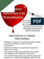 Trasfusion Sanguinea 7 Enero 2013