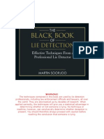 Black Book of Lie Detection
