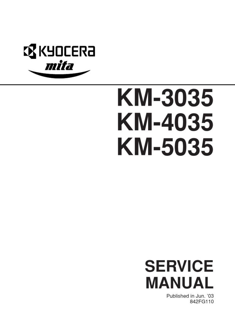 Wrg-8370] km3035 km4035 km5035 service manual   2019 ebook library.