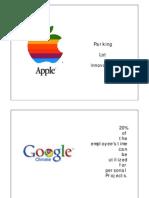 organizational culture apple