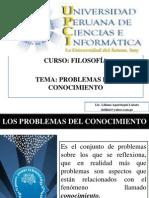 CLASE Nº 02 PROBLEMAS DEL CONOCIMIENTO