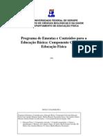 Programa e Ementas Educação Física