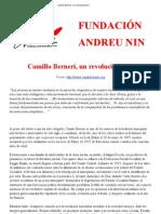 Camillo Berneri Un Revolucionario