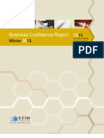 Sonoma County Business Confidence Report Winter 2013