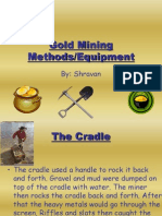 Gold Mining Methods Shravan